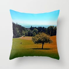 Another lonely tree in summer Throw Pillow by patrickjobst Lonely, Throw Pillows, Summer, Home Decor, Toss Pillows, Summer Time, Decoration Home, Cushions, Room Decor