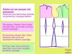 edikis.com/blog | Temel elbise kalıbı – KOLAY YÖNTEMLE
