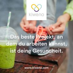 Gesundheit ist ein Projekt, das jede Mühe wert ist. Healthy Quotes, Motivation, Soap, Personal Care, Inspiration, Health, Projects, Biblical Inspiration, Self Care