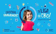 Institucional Colégio Bruno Ostmann on Behance Creative Poster Design, Ads Creative, Creative Posters, Graphic Design Posters, Creative Advertising, Social Media Branding, Kids Branding, Social Media Design, Web Design