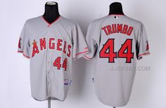 http://www.xjersey.com/los-angeles-angels-44-trumbo-grey-jerseys.html LOS ANGELES ANGELS 44 TRUMBO GREY JERSEYS Only $34.00 , Free Shipping!