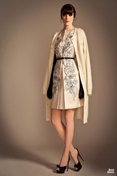 Temperley London 2013..just needs to be a bit longer in length. But luv this look.