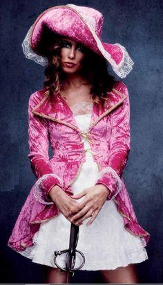 #Costume #Disfraz de Pirata rosa para Mujer