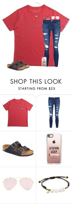 """""""It was supposed to rain today, but it didn't"""" by christyaphan ❤ liked on Polyvore featuring J Brand, Birkenstock, Casetify, TOUS and Kendra Scott"""