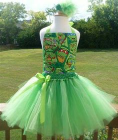 Ninja  party ck make a Ninja turtle apron