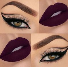 Now the eyeliner can almost become the protagonist of an eye makeup, even on the one hand, pulling out the strong and exaggerated eyeliner, it can almost be said to complete of the eye makeup. Eyeliner, Eyeshadow Makeup, Lip Makeup, Perfect Makeup, Cute Makeup, Pretty Makeup, Makeup Goals, Makeup Inspo, Makeup Ideas