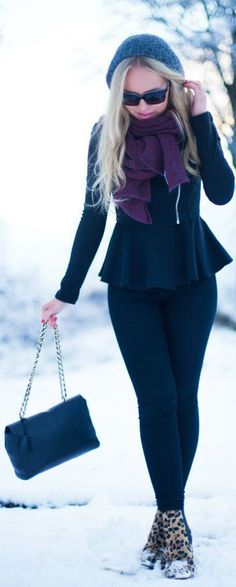 #Winter Wonderland by Cath In The City => Click to see what she wears
