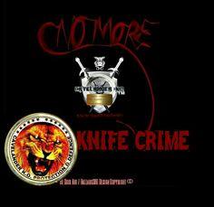 No more knife Crime Be Cool Art / Hazzard300 Design CAVELANDER   K.O.   2014 Copyright ©