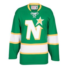 889e5ed84 Men s CCM Minnesota North Stars Vintage Jersey