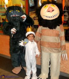 This homemade costume for families entered our 2009 Halloween Costume Contest.