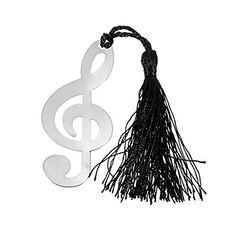 Lesezeichen in Form von Notenschlüssel Kemis Form, Trends, Winter, Magnetic Bookmarks, Bookmarks Kids, Music Instruments, Chains, Birthday, Xmas