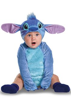 Ohana means family and what better time to get the family together than Halloween? Your kid will look cute even when he's throwing a tantrum in this adorable Stitch costume. Just like the rowdy little alien from your favorite Disney movie, your baby