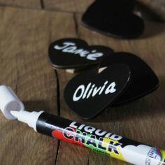White Liquid Chalk Pen