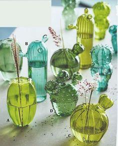 chunky stem goblet green borosilicate - Google zoeken