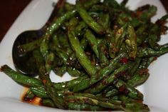 A perfect stir fry spicy green beans recipe is just like PF Chang's. It made wit long green bean, red chilies and garlic, a wonderful side dish to serve with steamed rice. Feel free to add meat for an extra…