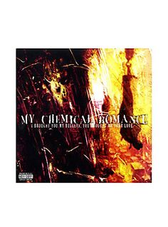 My Chemical Romance - I Brought You My Bullets, You Brought Me Your Love Vinyl LP Hot Topic Exclusive,
