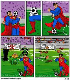 jajaja dejaron jugando solo a superman