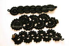 Πλεκτά βραχιόλια crochet bracelets, from mpleximo.gr