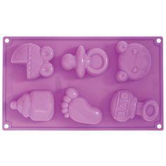 Decorflex e stampi in silicone : Stampo silicone multiporzione nascita Pavoni