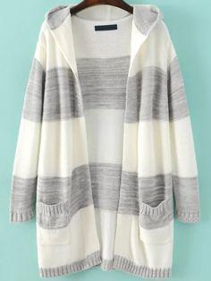 BIUBIONG Women Long Sleeve Front Slit Longline Cardigan Coat Outwear with Pockets