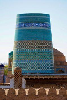 Uzbekistan, Khiva, Kalta Minor Minaret | Flickr - Photo Sharing!