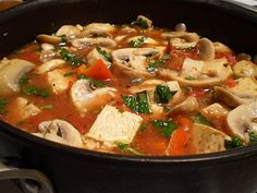 This Tofu and Mushroom. I want to try this.....without the marsala.