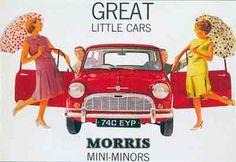 Austin Mini Pinup