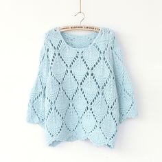 Pierced Loose Sweater