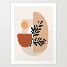 Geometric Shapes Mini Art Print by City Art - Without Stand - x Geometric Shapes Art, Geometric Wall, Abstract Shapes, Geometric Poster, Abstract Wall Art, Abstract Geometric Art, City Art, Form Poster, Wall Prints