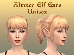 Elder Scrolls inspired elf ears