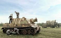 It's a SturmTiger Army Vehicles, Armored Vehicles, Military Photos, Military History, Self Propelled Artillery, Tiger Tank, Ww2 Photos, Model Tanks, Ww2 Tanks