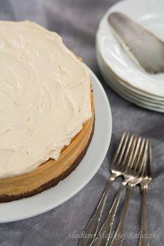 Sernik karmelowy   Caramel cheesecake