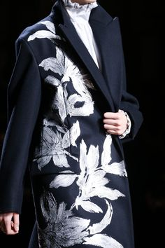 Dries-Van-Noten fall-2014 silver                                                                                                                                                                                 More
