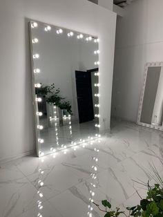 Mirrored Vanity, Glam Room, Aesthetic Room Decor, Room Stuff, Modern Bedroom, Hair Products, Room Interior, Decor Ideas, Inspiration