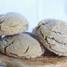 Cinnamon Gingersnap Cookies : These favorite holiday cookies get a flavor and antioxidant boost with an added spoonful of cinnamon. Photo credit: Susan Whetzel from Doughmesstic. Cookie Desserts, Sweet Desserts, Just Desserts, Sweet Recipes, Cookie Recipes, Dessert Recipes, Cookie Cups, Cookie Swap, Yummy Recipes