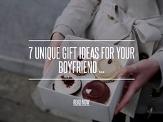 7 Unique Gift Ideas for Your Boyfriend ... - Love [ more at http://love.allwomenstalk.com ] Have a hard time finding gifts for your significant other? Creativity can really impress your other half while other times simple useful gifts go a long way. Here are just a few unique ideas to make him feel special and only requires your time and energy in making them happen-- and that's really what its all about.... #Love #Visual #Unique #Functional #Chocolate #Boyfriend