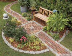 Path design ideas to makeover your front yard (81)