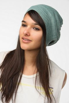 BDG Mixed Knit Beret  #UrbanOutfitters