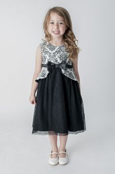 Vintage Lace Black Dress Bridesmaid Flower Girl Dress. available in other colours, please see our website. UK supplier ships worldwide.