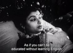 When Sharmila Tagore cleared out your misconceptions about being educated in Devi. 18 Important Times Women Got Very, Very Real In Vintage Bollywood Films Indian Aesthetic, Aesthetic Words, Film Aesthetic, Sharmila Tagore, Satyajit Ray, Ray Film, Feminist Quotes, Vintage Bollywood, Movie Lines