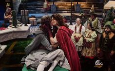 YESSSS THE LGBT COMMUNITY HAS MADE ITS WAY TO OUAT :3 Was expecting Mulan and Aurora but Ruby and Dorothy are cute too (knew that Ruby had some gay vibes in her!)