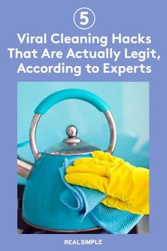 5 Viral Cleaning Hacks That Are Actually Legit, According to Experts | Social media like TikTok is rich with cleaning shortcuts, hacks, and tips that you might not have thought of yourself to save time in your cleaning routine. We asked three cleaning pros to weigh in on five cleaning hacks that are worth your time and will actually work. #cleaningtips #cleanhouse #realsimple #stepbystepcleaning #cleaninghacks #cleaningguide Laundry Hacks, Tidy Up, Real Simple, Home Organization, Clean House, Cleaning Hacks, Stains, Laundry Tips, Real Simple Magazine