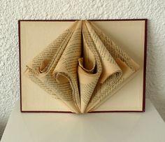 """Book Art Sculpture """"Old book"""""""