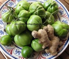 La Belle Auberge: Confettura di pomodori verdi, zenzero e lime