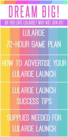 Whether you've been with LuLaRoe for a while now, or you just signed up … or maybe you're just thinking about signing up, this post is for you. No matter why you're looking …