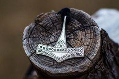 Thor's Hammer Mjolnir Pendant Viking Amulet Silver Necklace Scandinavian Norse Viking Jewelry (Reconstruction Romersdal, Bornholm, Denmark)