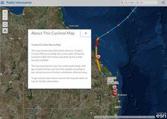 Australia cyclone map
