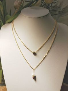 Layered necklace by GemesisJewels on Etsy
