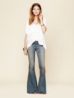Free People Pull On Super Flare at Free People Clothing Boutique