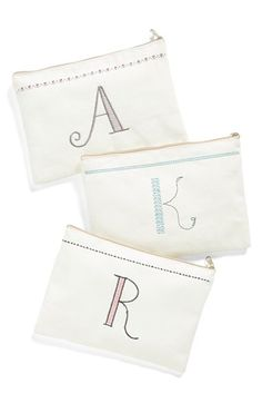 Check out my latest find from Nordstrom: http://shop.nordstrom.com/S/4018698  Levtex Levtex Letter Accessory Bag  - Sent from the Nordstrom app on my iPhone (Get it free on the App Store at http://itunes.apple.com/us/app/nordstrom/id474349412?ls=1&mt=8)
